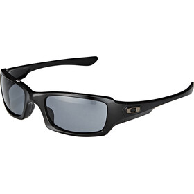 Oakley Fives Squared Glasses, polished black/grey